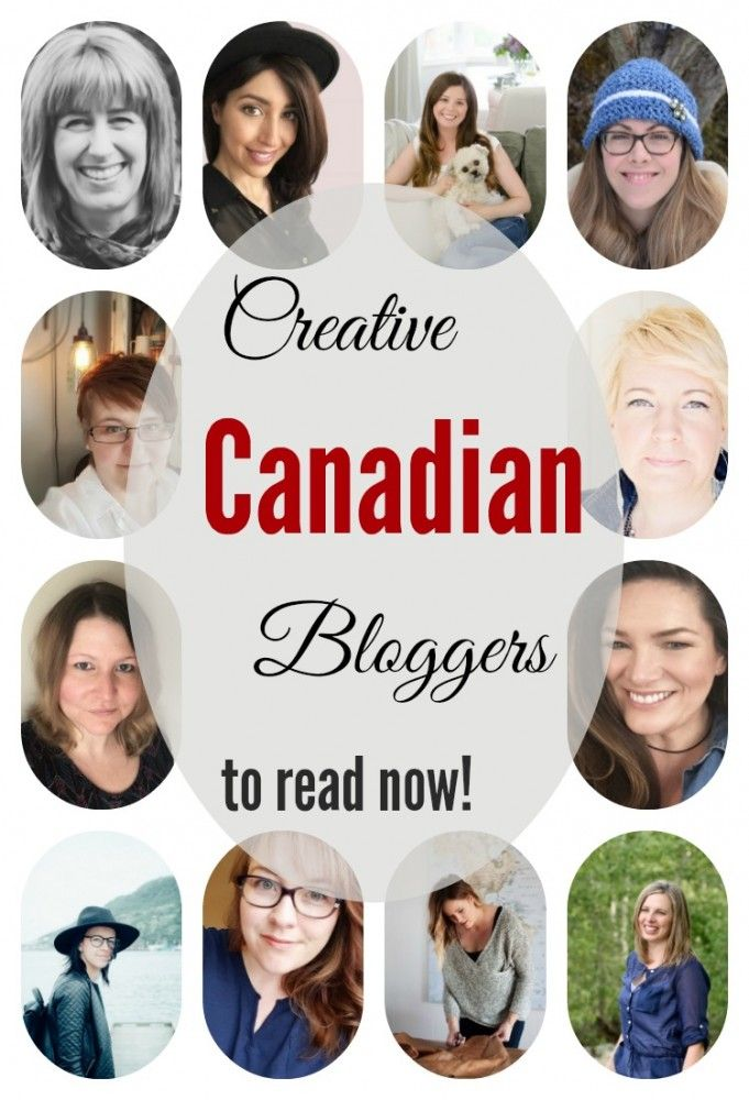 Do you know these 11 creative (female!) Canadian bloggers? Here's my list of inspiring Canadian DIY and lifestyle bloggers to read now!