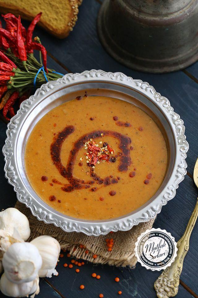 Mercimek Çorbası (Patatesli) #soup