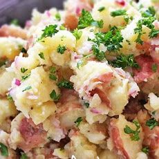 Horseradish Spiked Red Potato Salad Recipe