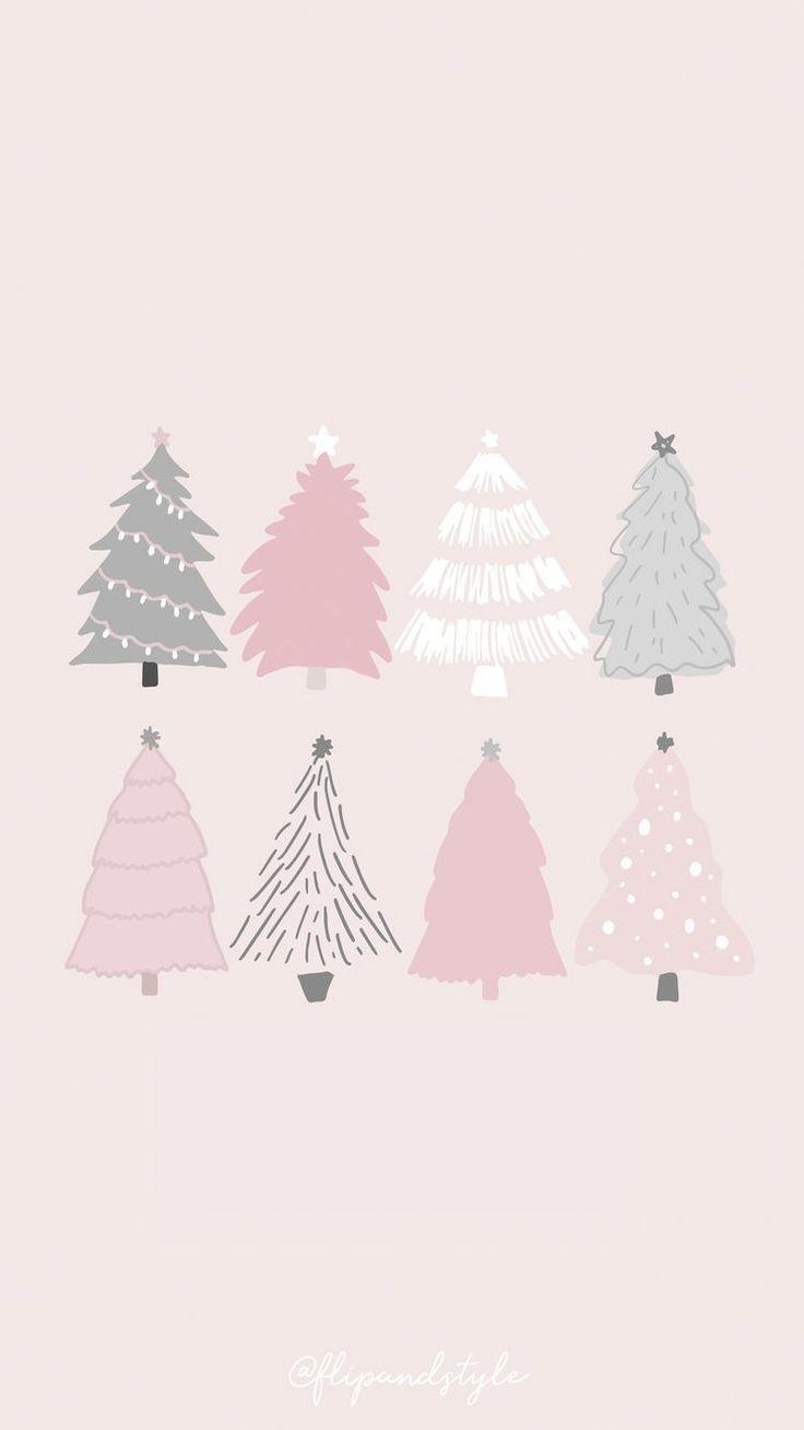 Christmas Trees Xmas Wallpaper Christmas Phone Wallpaper Christmas Wallpaper