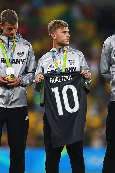 Max Meyer - Olympics Final: Brazil vs Germany
