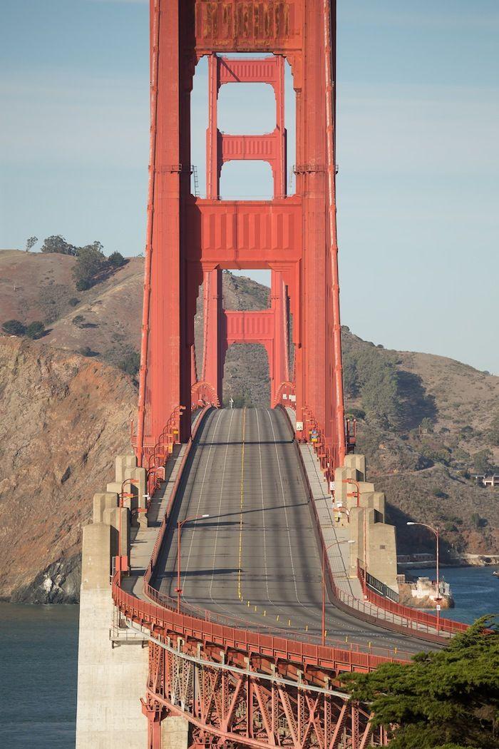 Image result for empty golden gate bridge
