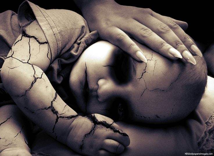 Cute Saying Hd Wallpapers Horror Baby Wallpaper Cute Baby Wallpapers Dolls