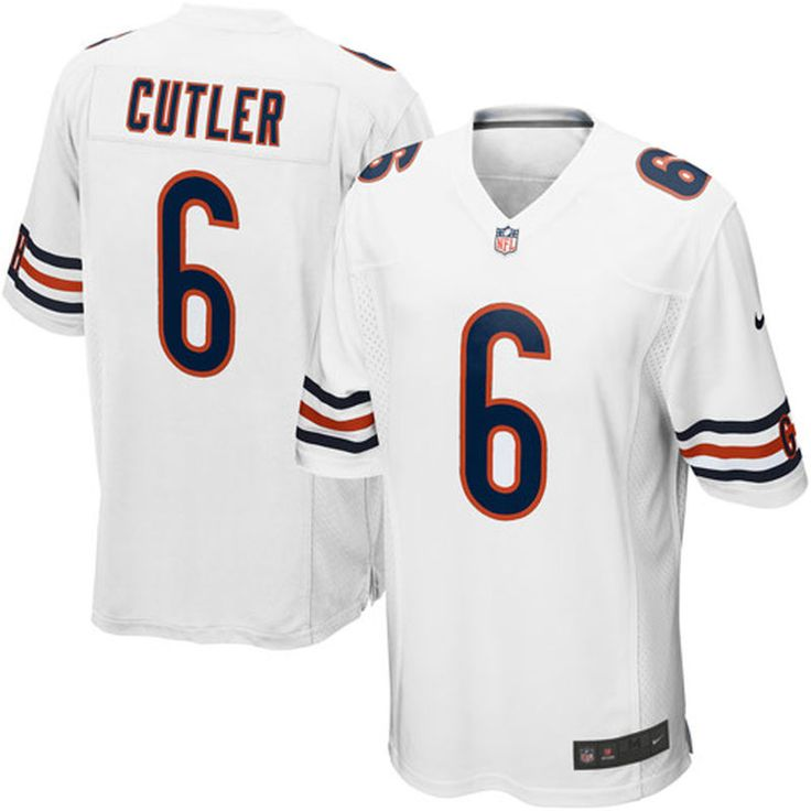 Jay Cutler Chicago Bears Nike Youth Game Jersey – White