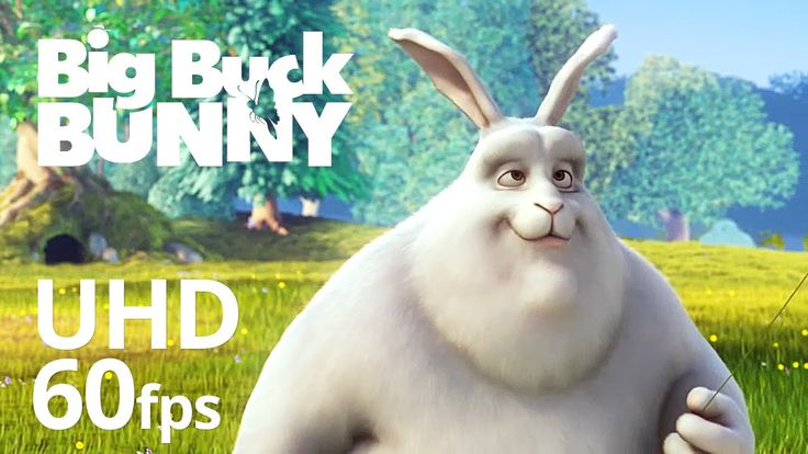 Big Buck Bunny 4K 60fps - Official Blender Foundation Short Film