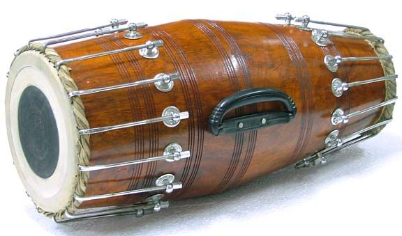 Percussion instruments - indian tabla - pakhavaj - kanjira - mirdangam - dholak - gatham sitar