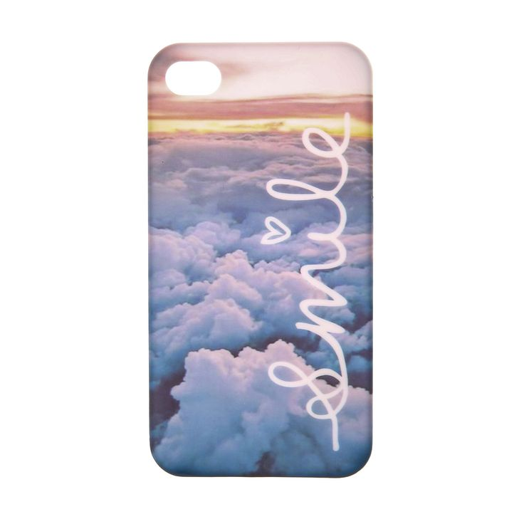 Smile Clouds Phone Case - iPhone 4/4S, iPhone 4/4S, Phone & Tablet Accessories, all, Phone & iPod Cases, Accessories, Tech Zone, Sale, View All... Fashion trends, accessories and jewellery for young women
