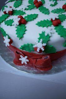 ... not only Teddy Bears ...: Torta Natalizia - Christmas cake