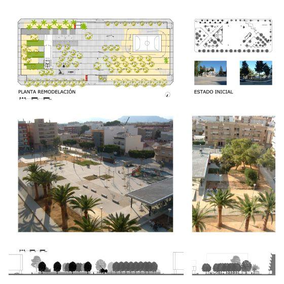 Remodelación de plaza en Almoradí