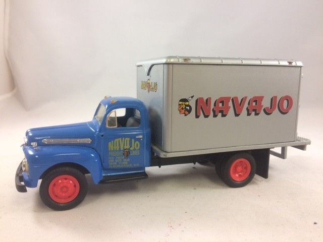 1992 First Gear 1951 Ford Truck Navajo Freight Lines 1 34 Diecast Indian Van Firstgear Ford 1951 Ford Truck Used Trucks Ford Trucks