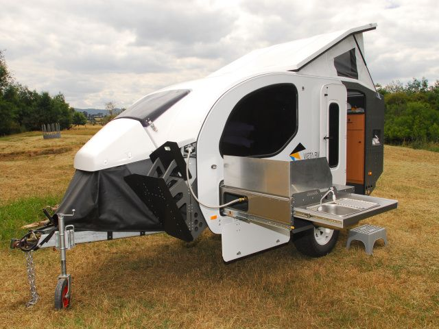 Off-Road RV | diamond campers camper with external toilet this post was edite