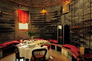 Wine cellar at Tintswalo in the #Manyeleti