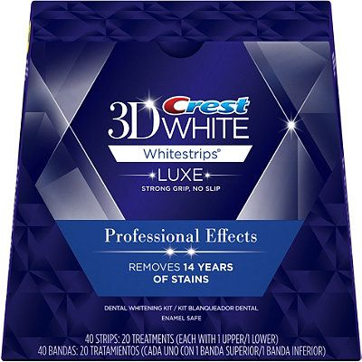 Crest 3D Professional Effects Whitening Strips