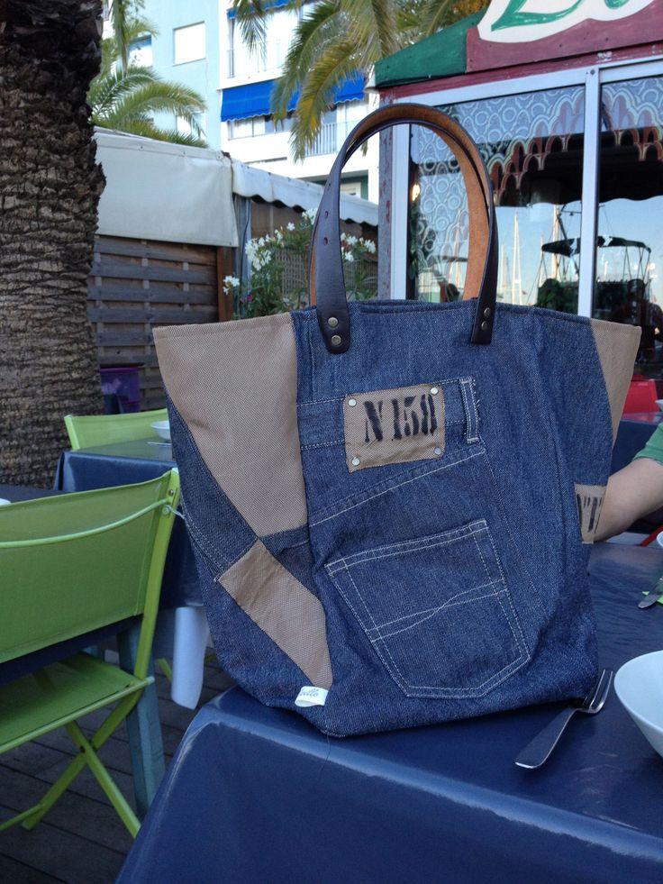 sac - cabas, http://sacaddict.canalblog.com #cabas#jean#recup#