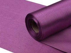 Satén 16 cm x 9 m purpurově fialový