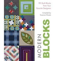 """Offers a selection of thoroughly modern block designs from some of today's top quilters. This title brings together 99 block designs - from new twists on classics to brand new blocks. Each of these fresh and fun 12"""" blocks are beginner-friendly and come with complete easy-to-follow cutting instructions."""
