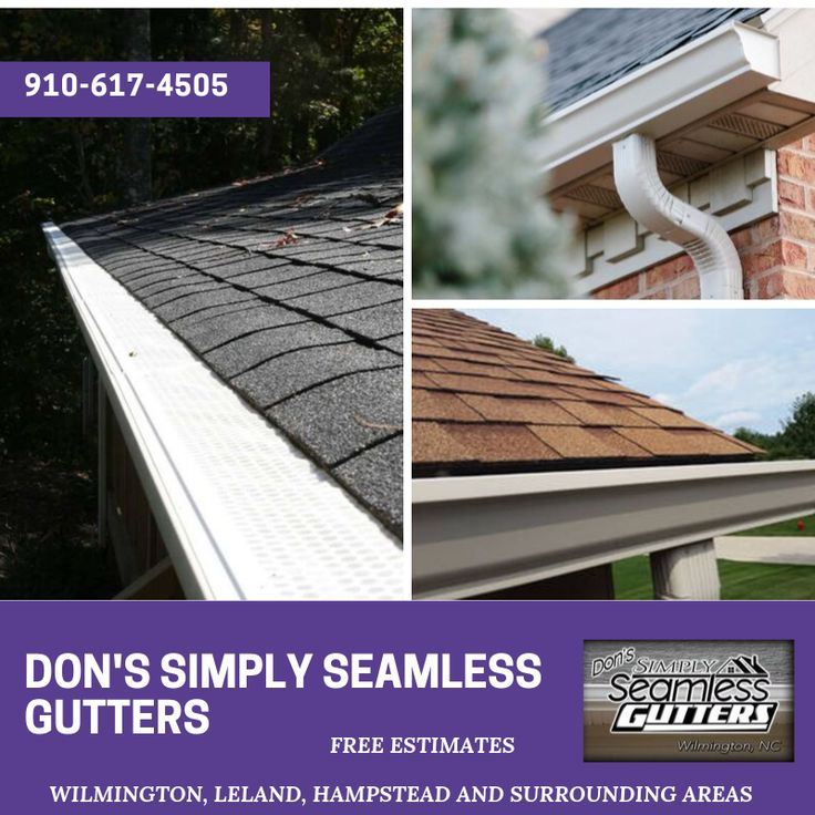 Don S Simply Seamless Gutters How To Install Gutters Gutter Repair Cleaning Gutters