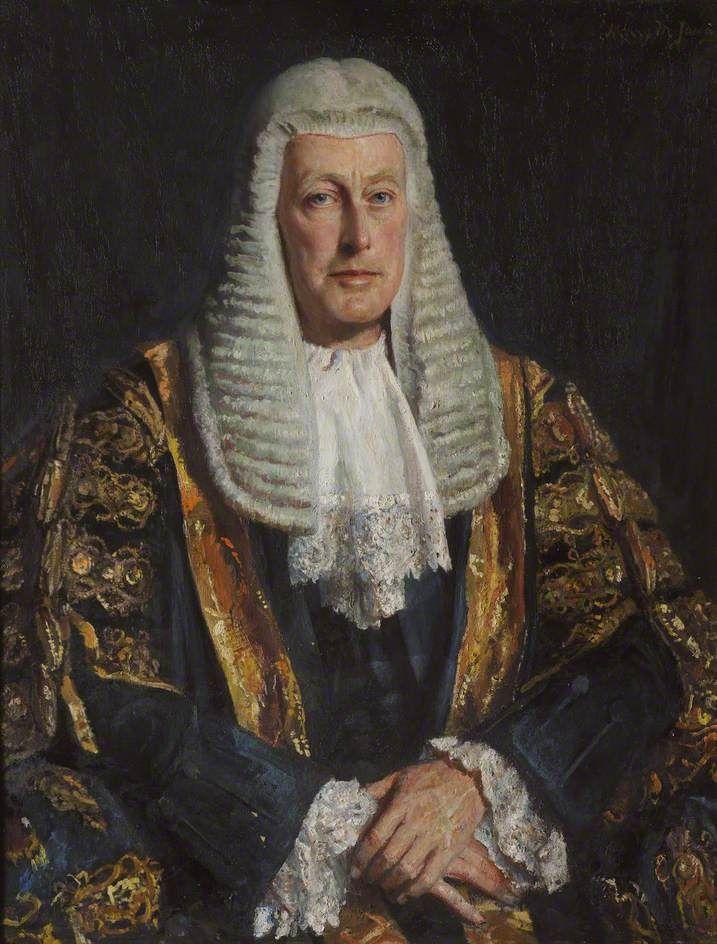 Fergus Dunlop Morton (1887–1973), Baron Morton of Henryton, High Court Judge