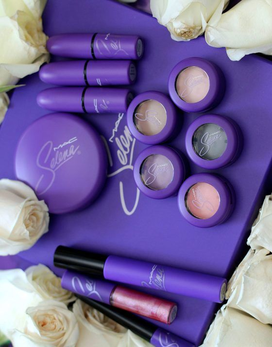 The MAC Selena Matte Eyeshadows and Lipsticks Take Center Stage www.makeupandbeau... #MakeupCafe