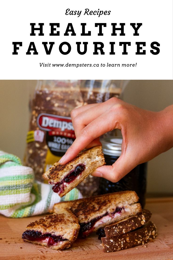 Eating healthy doesn't mean you have to sacrifice on flavour. Check out these favourites from Dempster's!