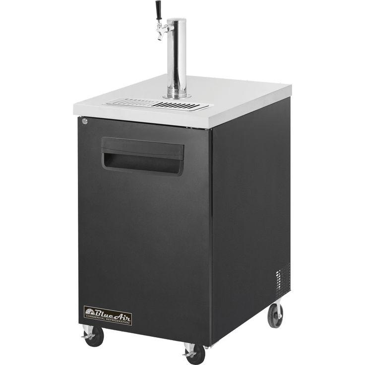 """Blue Air 23"""" Direct Draw Beer Dispenser Keg Cooler BDD23-1B"""