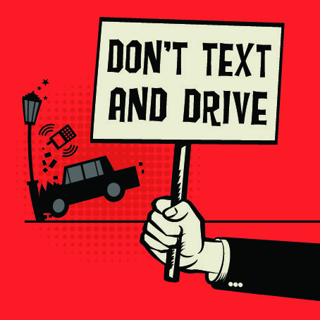 In honor of National Distracted Driving Awareness Month