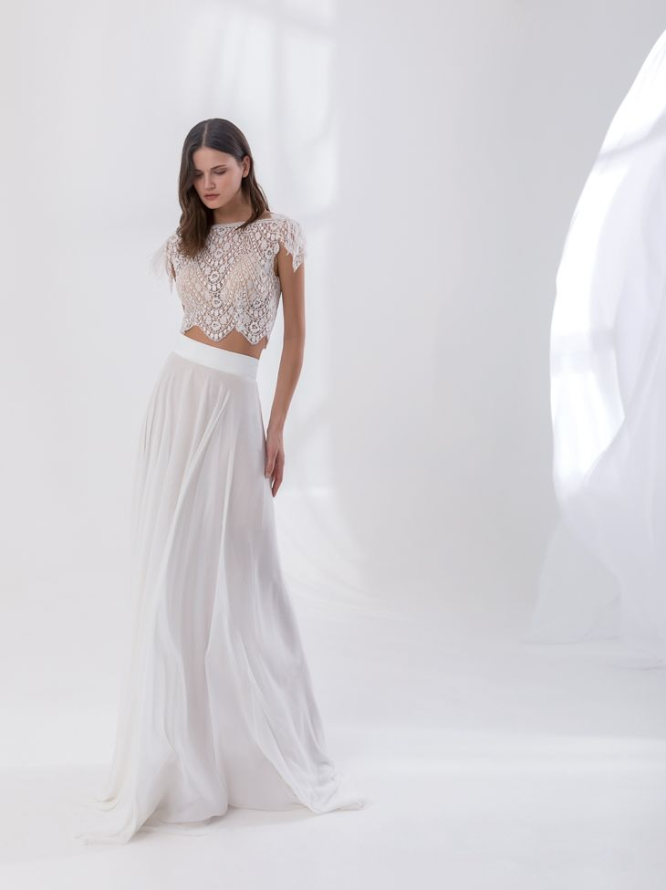 """""""Sasha"""" from Costantino's SS18 Dreamland Collection.    #greekdesigners #weddingdress #bridal #couture"""