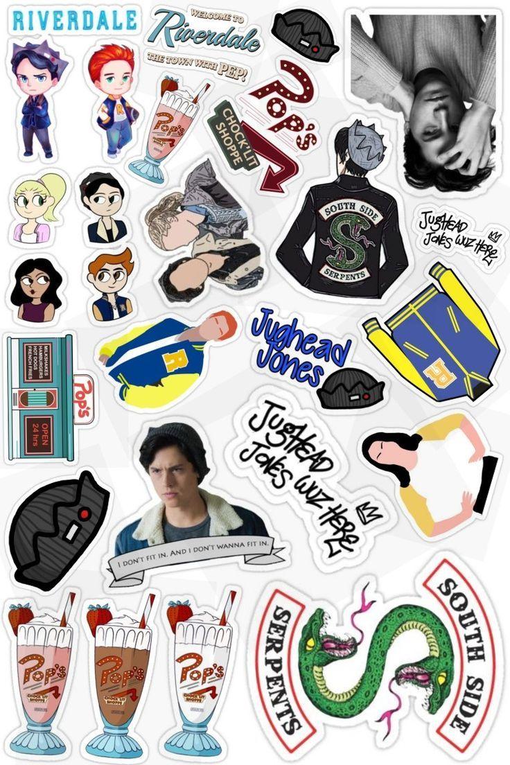 Riverdale Stickers_🖤 ___ Riverdale Stickers_ _ _____ Rive