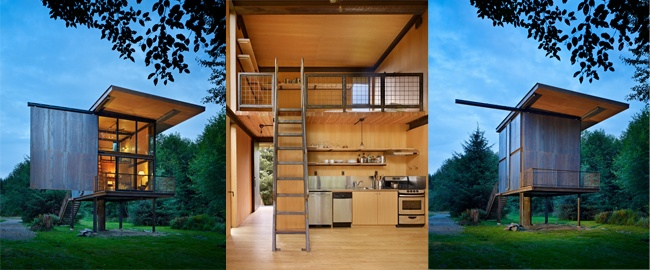 Cabin in the Woods by Olson Kundig Architects