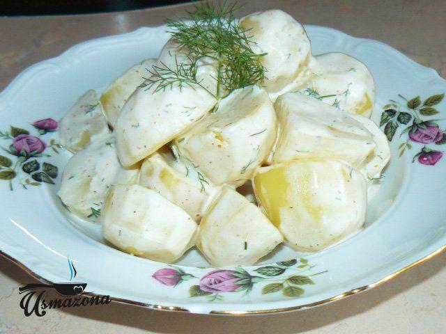 ziemniaki w śmietanie