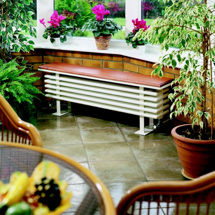 The Bench Radiator In A Conservatory