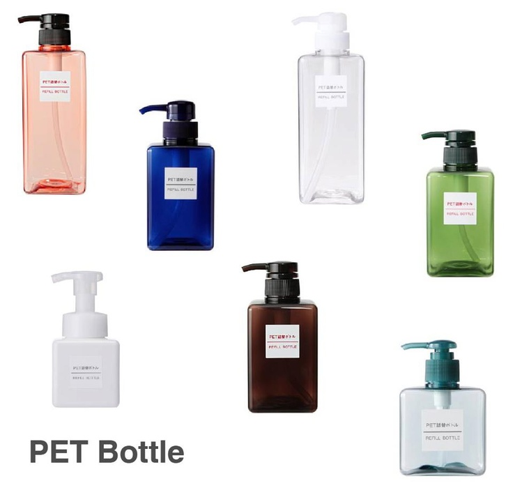 These refillable bottles are perfect for shampoo, conditioner, hand soap or dishwashing liquid. The square shape made for easy storage and handling. With these various colors, it's easier to categorize your needs.