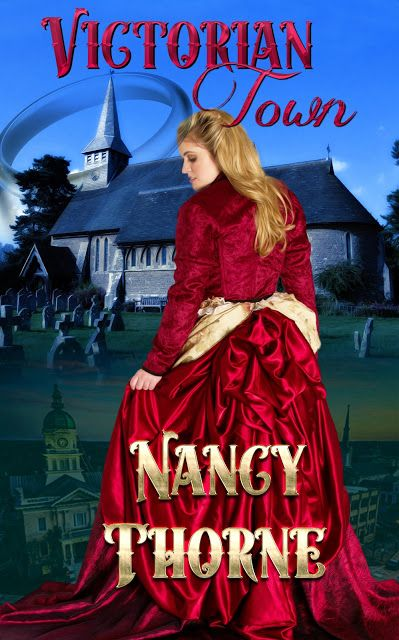 Check out the #CoverReveal for the #YoungAdult #YA #mystery #paranormalromance #timetravel Victorian Town by Nancy Thorne & #Giveaway              https://padmeslibrary.blogspot.com/2018/03/cover-reveal-victorian-town-by-nancy.html