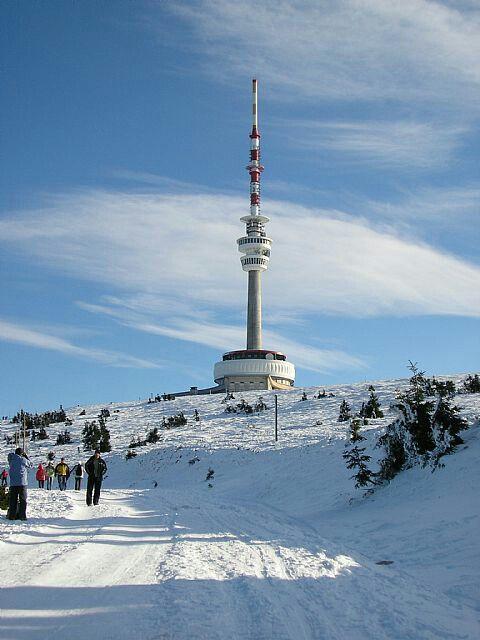 Praded, the highest point of Jeseniky
