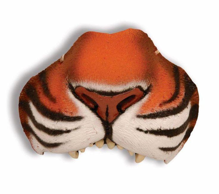 Nose Jungle Tiger W Elastic