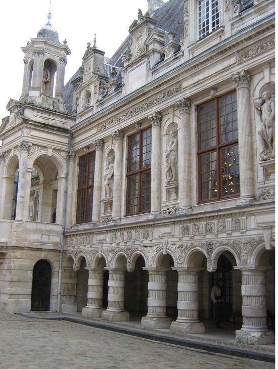 La Rochelle l'hôtel de ville là où je me suis mariée un beau jour de juillet