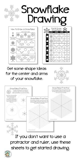 Why Are No Two Snowflakes Alike? In this Snowflake Drawing