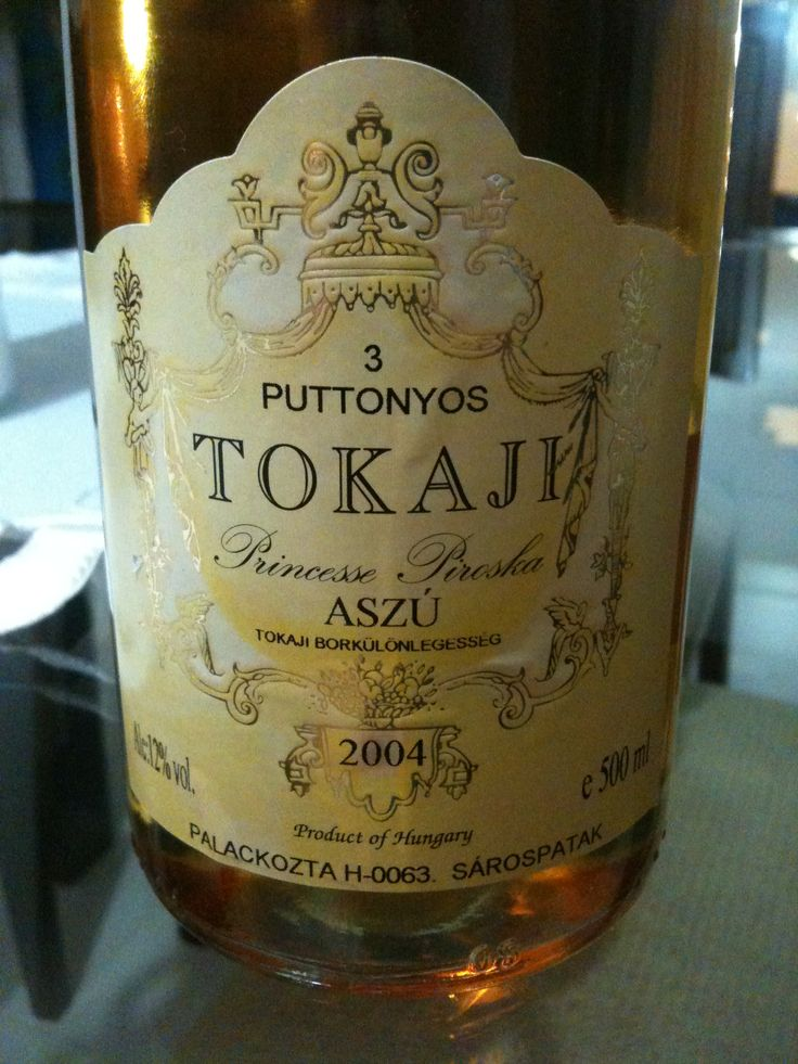 Tokaji wine.  Made in Hungary since the middle ages,  the Tokaj wine was called  liquid gold, and was exported to the nobility all over Europe.
