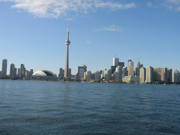 Toronto from Lake Ontario,Canada