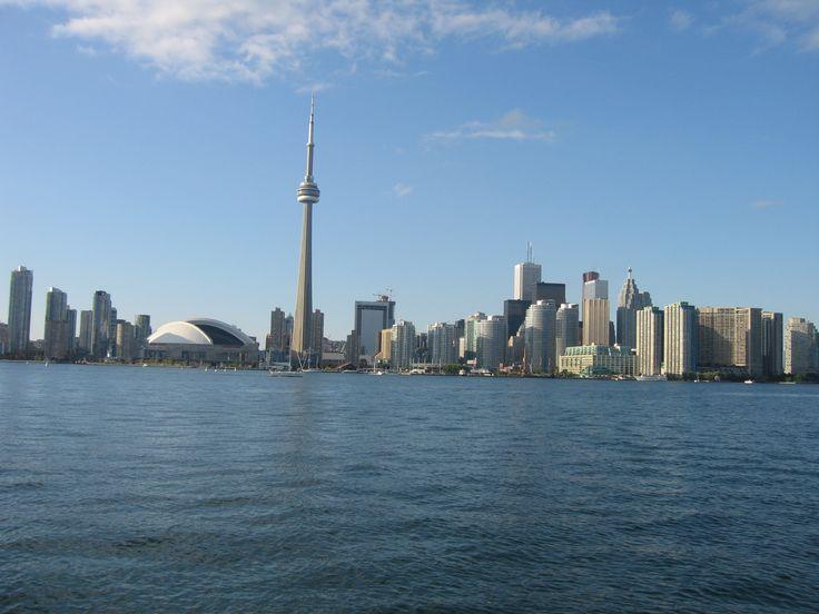 Toronto from Lake Ontario,Canada