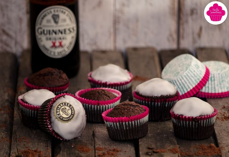 Chocolate Guinness Cupcakes/Muffins - Bataille Food #37