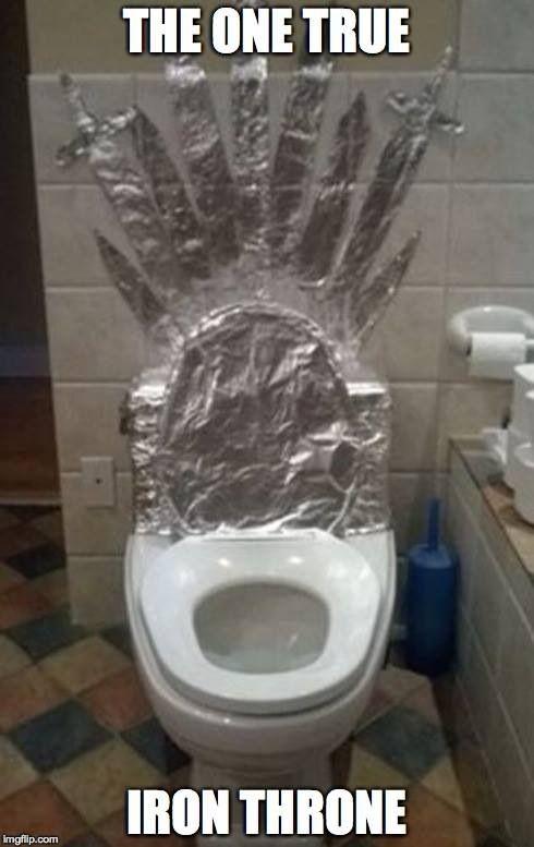 The one true iron throne!