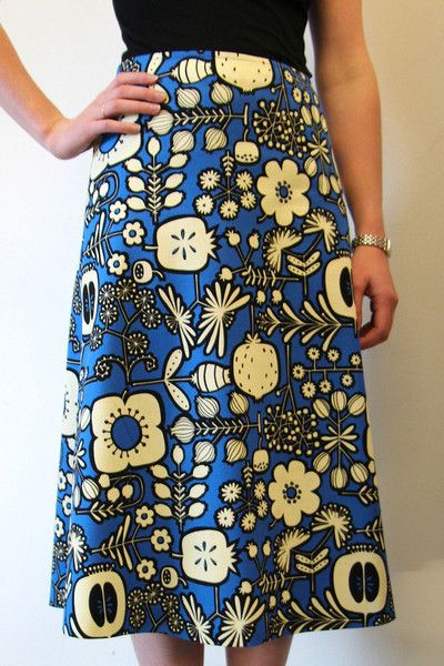FREE PATTERN: Libby A-Line Skirt [AUS size: 6 to 16]