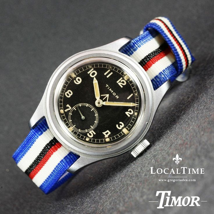 1940's TIMOR Swiss Dirty Dozen WWW MOD WW2 Vintage Military Watch AS Cal. 1203  PROFESSIONALLY SERVICED IN-HOUSE AT OUR LOCALTIME SPA