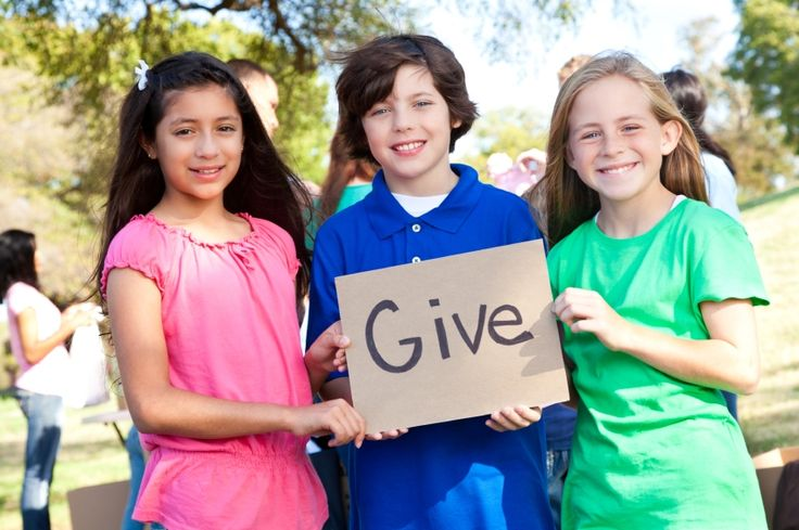 5 Simple Ways for Kids to Donate to Charity