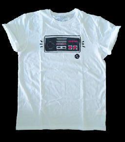 Camiseta nes, nintendo controller, videogames, pmdsgns