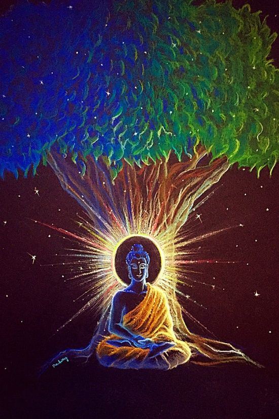 """""""All sacrifice and suffering is redemptive. It is used to either teach the individual or to help others. Nothing is by chance.""""    ~  A.J. Russell  Artist:   Amadeux Art. Title:  Enlightenment   ॐ lis"""