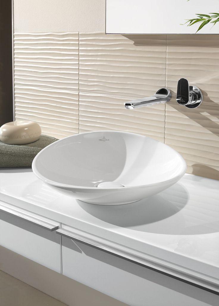 VILLEROY   BOCH Earth Elements Design  Bathroom BasinBathroom TilingTile. 30 best aktuelle baderomsm bler images on Pinterest