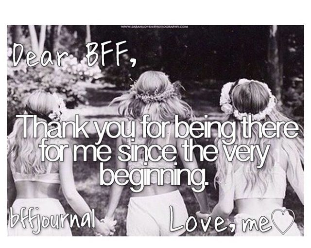 Thank You For Being My Sister Quotes: Dear Bff... Thanks @jnb122