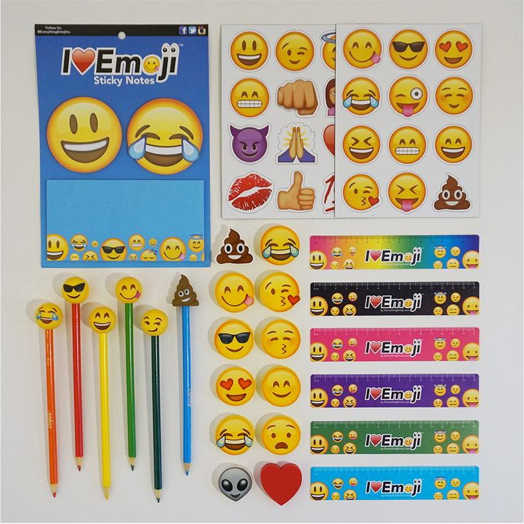 Emoji School Supply Fun Pack: Tears of Joy